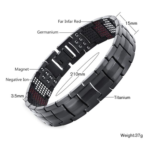 Magnetic Bracelet For Stylist Men