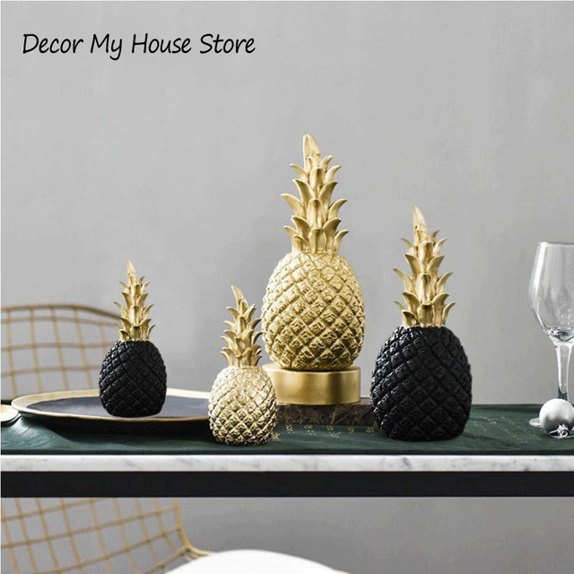 US $5.17 36% OFF|Original Nordic Modern Pineapple Fruits Living Room Wine  Cabinet Window Desktop Home Decoration Furnishing Prop Accessories-in ...