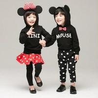 Girls Clothes Spring Children Clothing Set Brand Toddler Girls Boys Clothing Sets Roupas Infantis Menino Dot