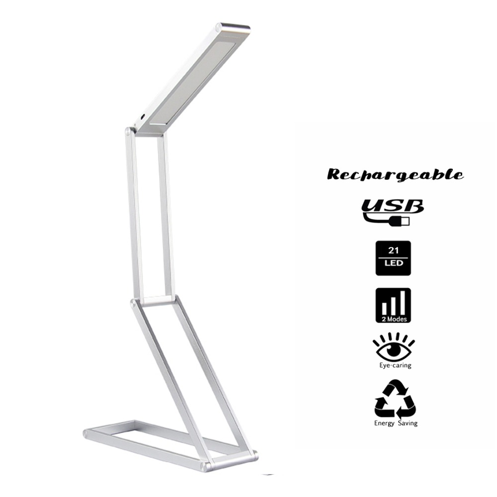 Ganeed Rechargeable LED Desk Lamp Portable Dimmable LED Table Lamp Reading Light Aluminum Alloy Folding Book Light for ReadingGaneed Rechargeable LED Desk Lamp Portable Dimmable LED Table Lamp Reading Light Aluminum Alloy Folding Book Light for Reading