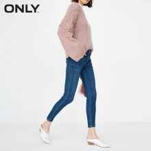 ONLY2019 Women's autumn new low waist skinny cropped jeans | 118349543(China)