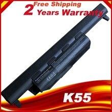 Laptop batterie für Asus K55 K55A K55D K55DE K55DR K55N K55V K55VD K55VM K55VS Laptop batterie Für Asus A32 K55 A33 K55 a41 K55