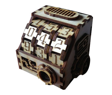 Wooden Board Game Accessories Steam Peng Counter For RPG SRPG S RPG DIY Gaming Life Value Recorder