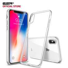 Case for iphone X/XS/XR/XS Max, ESR Soft TPU bumper Clear Case 0.8mm Ultra Thin Light Weight Jelly cover case for iPhone 10 XS(China)