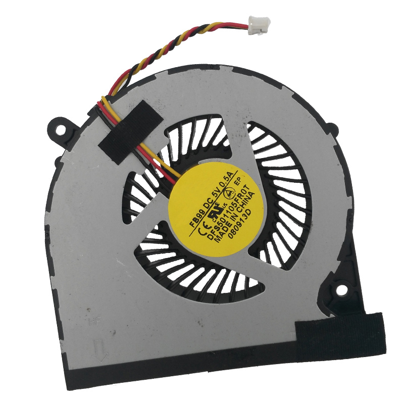 Купить с кэшбэком New Original Laptop Cooling Fan For Toshiba Satellite  C850 3PIN C50/C50-A PN:DFS501105FR0T FBFT CPU Cooler/Radiator Fan