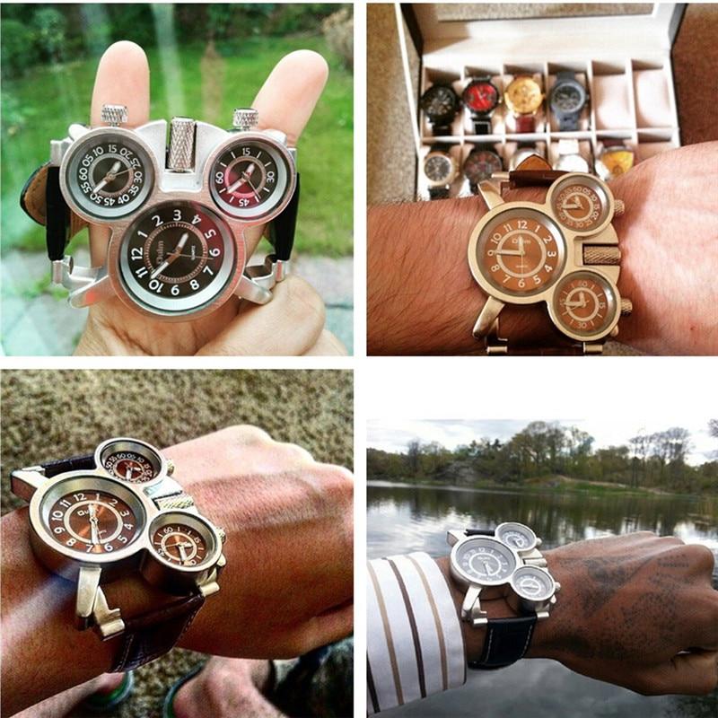 Ρολόγια για άνδρες Oulm Κορυφαία μάρκα - Ανδρικά ρολόγια - Φωτογραφία 6