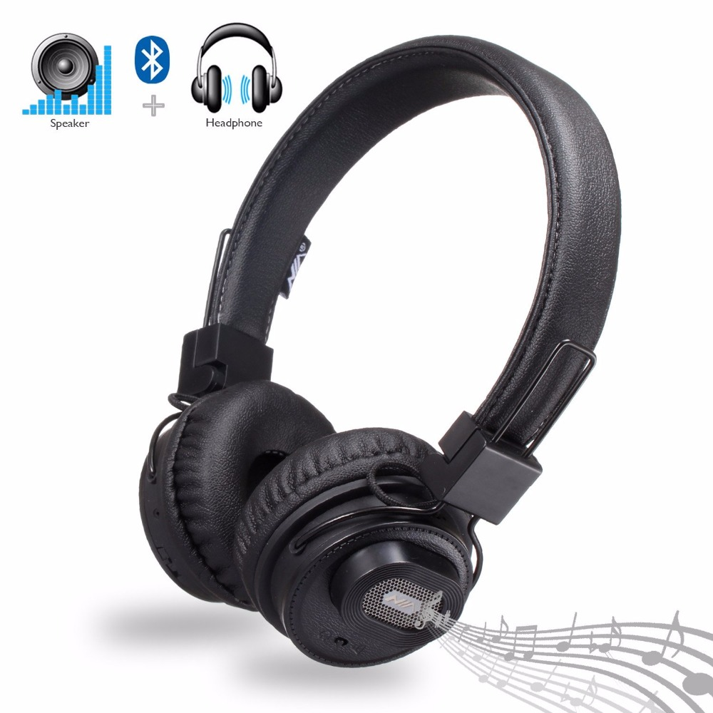 Original NIA X5SP Headset Wireless Stereo Bluetooth Headphones Bluetooth Speakers fone de ouvido bluetooth with Mic Наушники