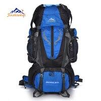 Large capacity 85L Outdoor Backpack Men Rucksacks camping sports bags Travel Waterproof climbing backpacks Hiking Bag