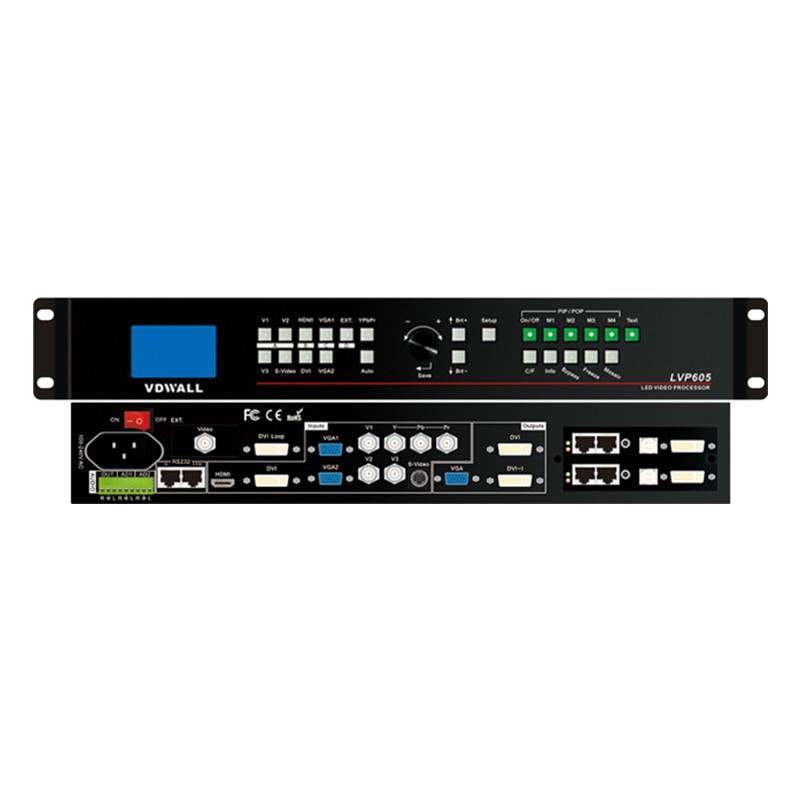 VDWALL LVP605S LED Video Processor Without LED Sending Card LED Rental Screen Video Processor