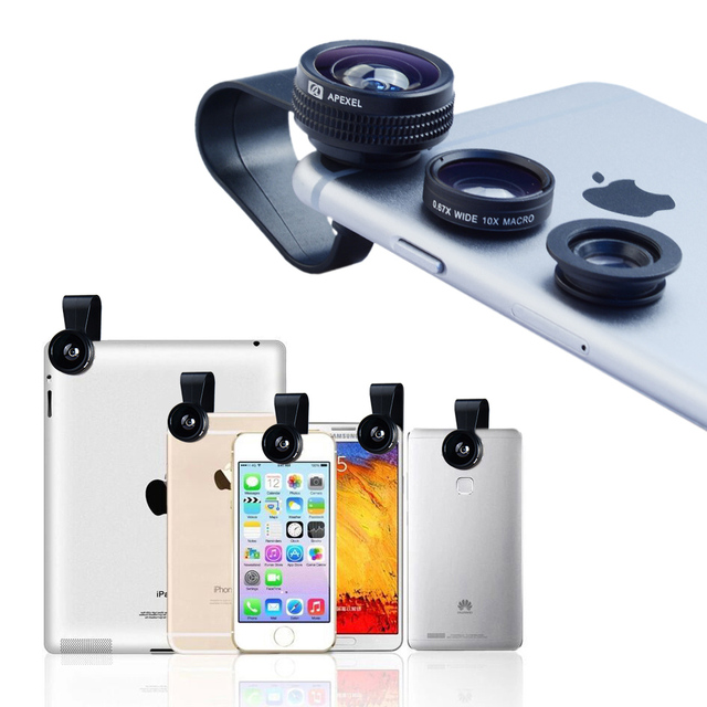 Mini Clip-on Optic Cell Phone Camera