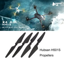 Hubsan 2 Pairs CW/CCW Propeller Blade RC Drone Accessories & Part  for Hubsan H501S H501C H501A H501M 501 RC Quadcopter RC DRON аккумулятор hubsan h501s 14 для h501s