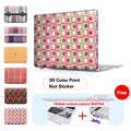 Sea seamless patterns Crystal Laptop Case For Macbook Air 13 Case Air 11 Pro 13 15 Retina Mac Book Air 13 Case A1465 New 12 Inch