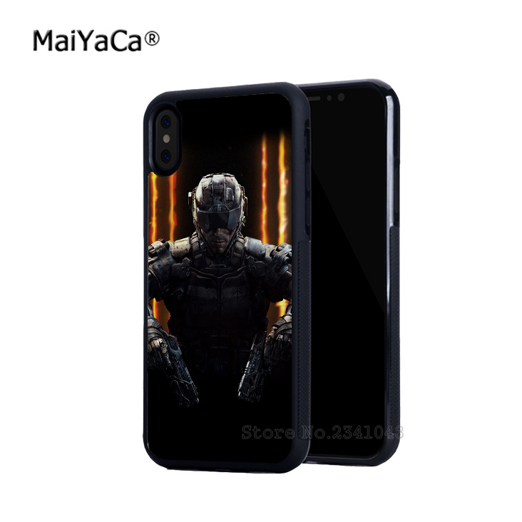 game black silicone soft side edge cell phone cases for iphone 5s SE 6 6s 6splus 7 7plus 8 8plus X XR XS MAX