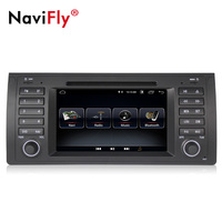 NaviFly TDA7851 Android 8.1 car dvd multimedia for BMW/E39/X5/E53 car radio stereo gps system quad core WIFI BT CANBUS