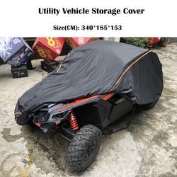 UTV 210D оксфордская ткань Защитный чехол для хранения автомобиля от дождя, грязи, лучей-отражающий для Can Am Maverick X3 X 2015-2019