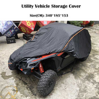 UTV 210D Oxford Cloth Protect Utility Vehicle Storage Cover from Rain Dirt Rays-Reflective for Can Am Maverick X3 X 2015-2019 - DISCOUNT ITEM  30% OFF All Category