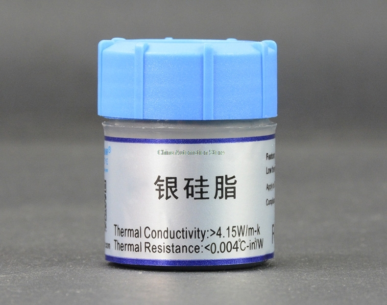 wholesale 1Pcs 30 grams Thermal grease CPU thermal grease CPU silicone thermal paste not ...
