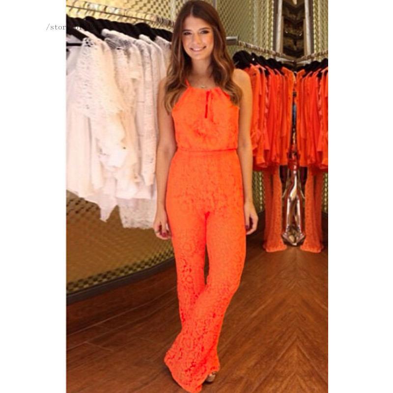 Orange Jumpsuit For Women | Fashion Ql