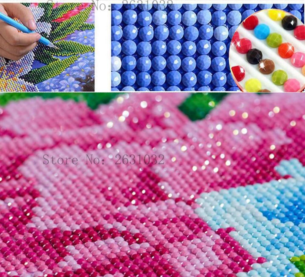 Uzequ 5d diament malarstwo cross stitch chryzantemy kwiat diament - Sztuka, rękodzieło i szycie - Zdjęcie 3