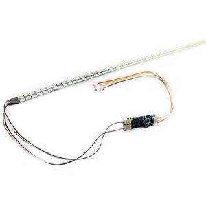 Светодиодные лампы для задней подсветки, 10 шт. x 24 дюйма, широкая панель 540 мм, набор для подсветки, регулируемая подсветка, ЖК-монитор 24 дюйма, 2 светодиодных полоски