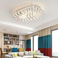 NEW LED Ceiling Chandelier Lights Living Room Bedroom Modern Aluminum Chandeliers AC85 265V Home Decoration Lighting