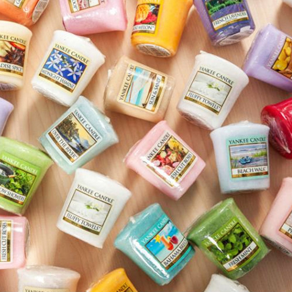 Aromatherapy smokeless candles+Star Candle Cup Aromatherapy essential oil Wedding candles Yankee Candles 81 Flavors