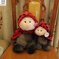 Божья коровка Кукла outlet подлинные плюшевые игрушки куклы день рождения Рождественский подарок дети Мягкую игрушку