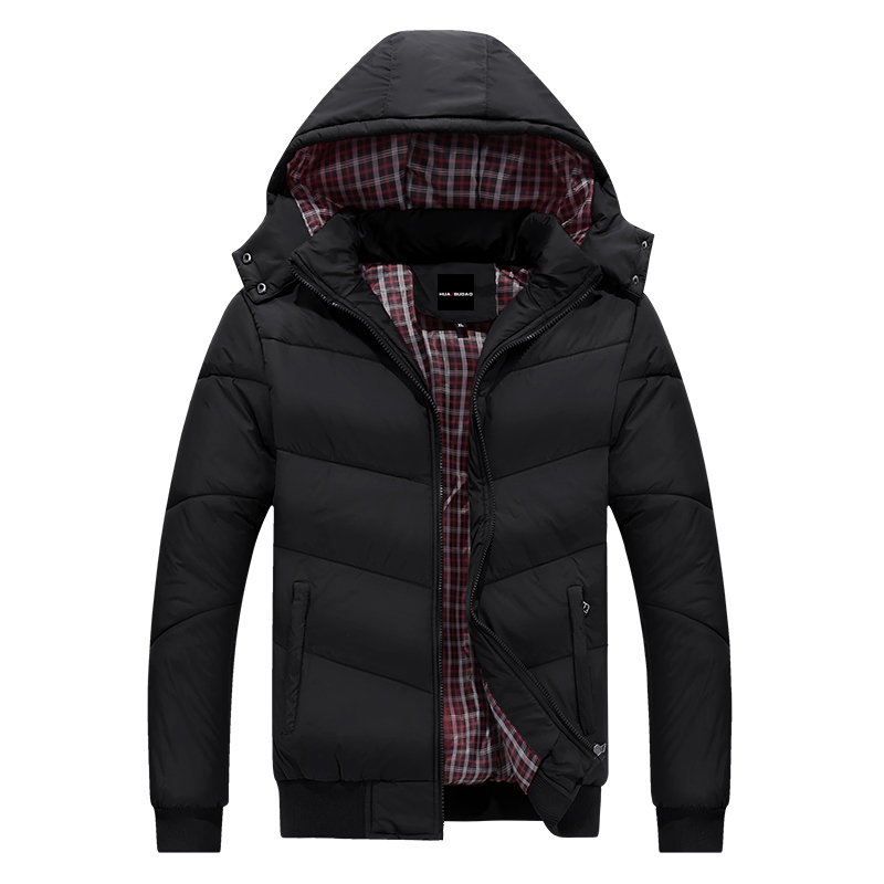 Talla M-5XL chaqueta de invierno para hombre abrigo de invierno de marca para Hombre Ropa casacos masculino grueso abrigo de Invierno 2017