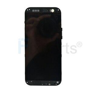 "Image 2 - שחור 5.0 ""עבור HTC אחד M8S LCD תצוגת מסך מגע Digitizer הרכבה 1920X1080 החלפה עם מסגרת עבור HTC M8S LCD"