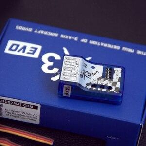 Image 5 - 1 PCS Fixo asa de Vôo Giroscópio Balanceador NX3 NX3 EVO EVO Controlador de Estabilização De Vôo de Controle de Vôo para 3D 2D vôo