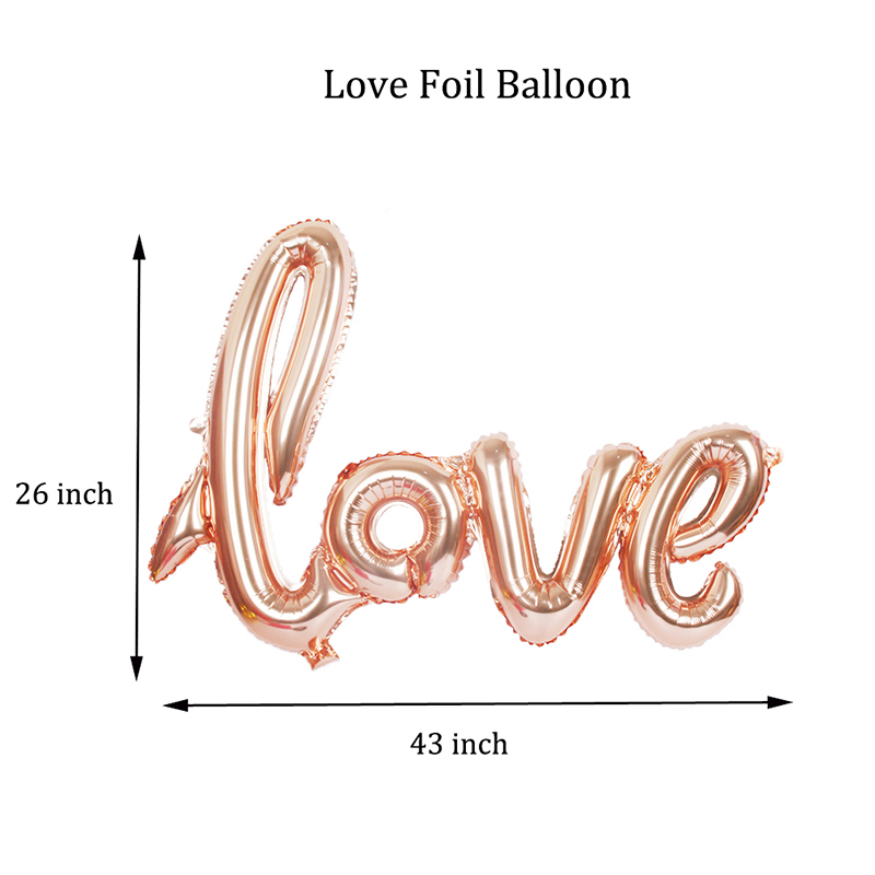 Valentine 39 s Day Champagne Bar Party Decorations LOVE Balloon Set Heart Foil Balloon Lip Pink Party Latex Wedding Balloons Helium in Ballons amp Accessories from Home amp Garden