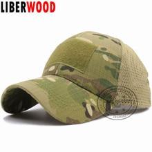 LIBERWOOD ACU Multicam Operator Hat Special Force Camo Mesh