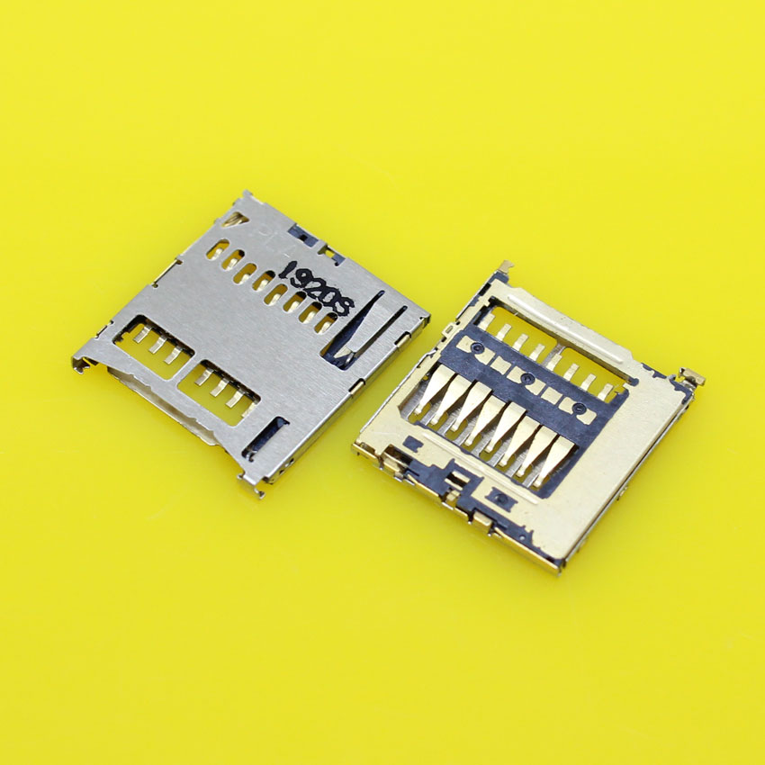 cltgxdd KA-024 New for Samsung Galaxy S4 E300 I959 I9500 I9502 I9505 sim card reader socket slot tray replacement adapters