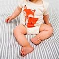 Newborn Baby Clothing Cute Fox Triangle Bodysuits Baby Girl Boy Next Vestidos Infantis Body Long Sleeve Super Soft Baby Bodysuit