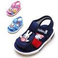 Лето новое прибытие ребенок ремень сандалии малыш shoes girls shoes мужской