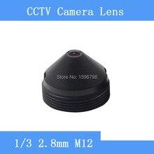 PU`Aimetis Factory direct infrared surveillance camera pinhole lens 2.8mm M12 thread CCTV lens F2 fixed Iris