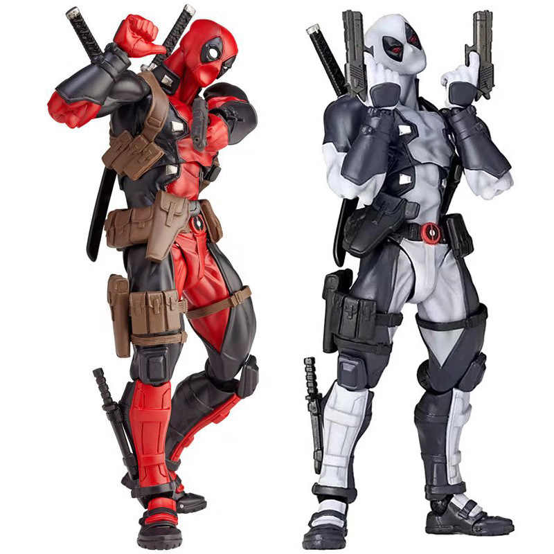 NEW hot 16cm Super hero X-Men Deadpool movable action figure toys collection Christmas gift doll