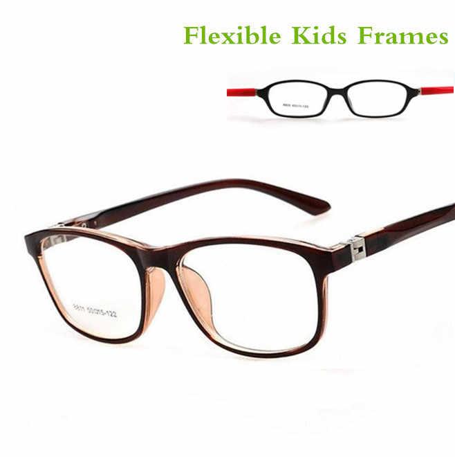 58c70faf42e TR90 Children s Cute Brand Clear Optical Myopia Designer Glasses Frame  TerGoggles Glasses Frame Children boys girl