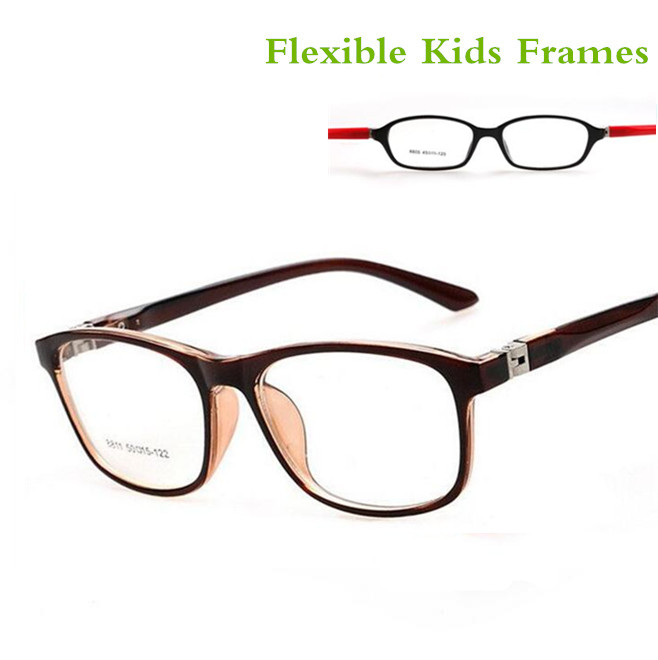 TR90 Children's  Cute Brand Clear Optical Myopia Designer Glasses Frame TerGoggles Glasses Frame Children Boys Girl Amblyopia