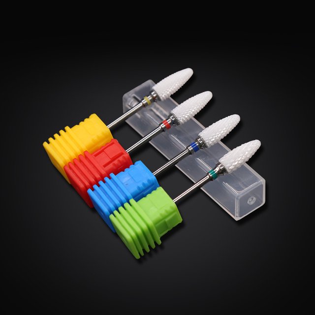 Ceramic Milling Cutter Nail Drill Bits Manicure Machine Ceramic Cutters For Manicure Ceramic Milling Cutter Pedicure Manicure 2