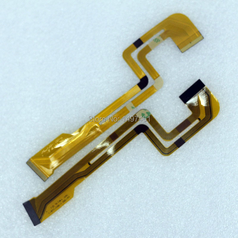 2PCS LCD Hinge Rotate Shaft Flex Cable For Sony DCR-HC23E HC24E HC26E HC27E HC28E HC35E HC36E HC46E HC96E HC96 HC35 Video