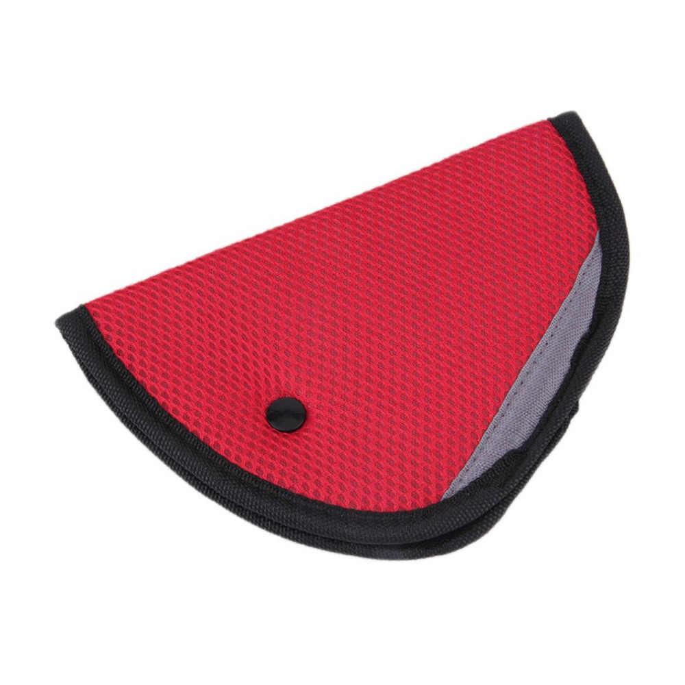 Универсальный мини 8 цветов автомобильный безопасный регулятор ремня безопасности Автомобильная регулировка ремня безопасности устройство детская защита для ребенка позиционер дышащий
