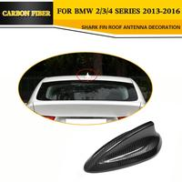 Car Styling F22 F32 F30 Carbon Fiber Antenna Shark Fin Top Antenna For BMW Fit F22