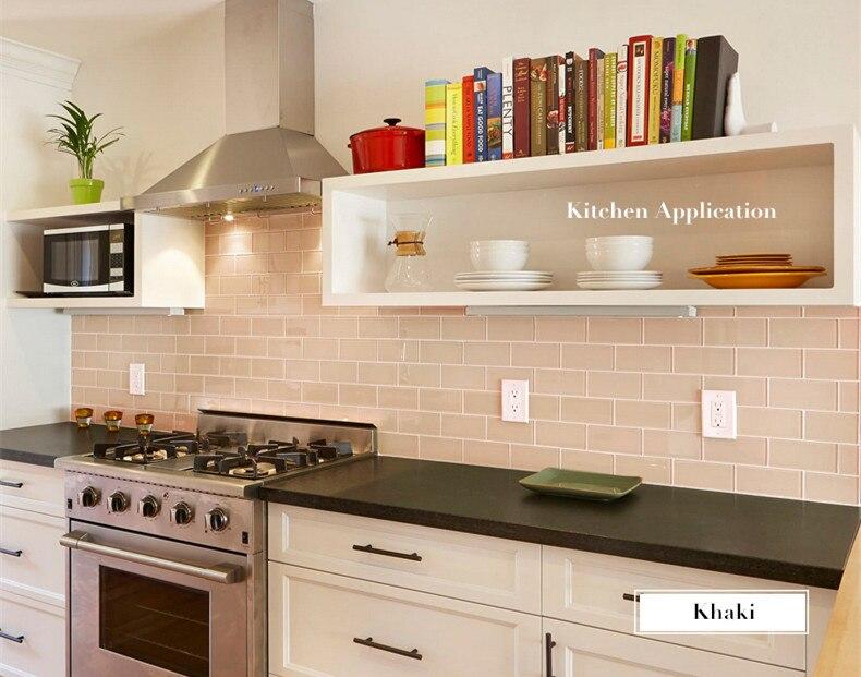 Tegels Metro Keuken : Wit glasmozaïek keuken backsplash badkamer muur metro tegels