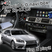 Android 6 0 GPS navigation box for Lexus LS460 2012 2017 video interface etc with knob