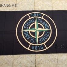 Stone Island 5815 полиэстер Размеры № 4 150*90 см Флаг 100D цифровой печати 3x5ft полиэстеровый баннер