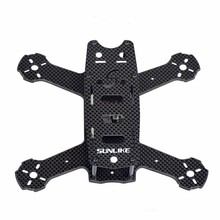 S180A Mini 180mm Frame Kit Super Light 4MM 3K Pure Carbon Fiber DIY Racer Quadcopter with PDB DIY Frame Kit F19686