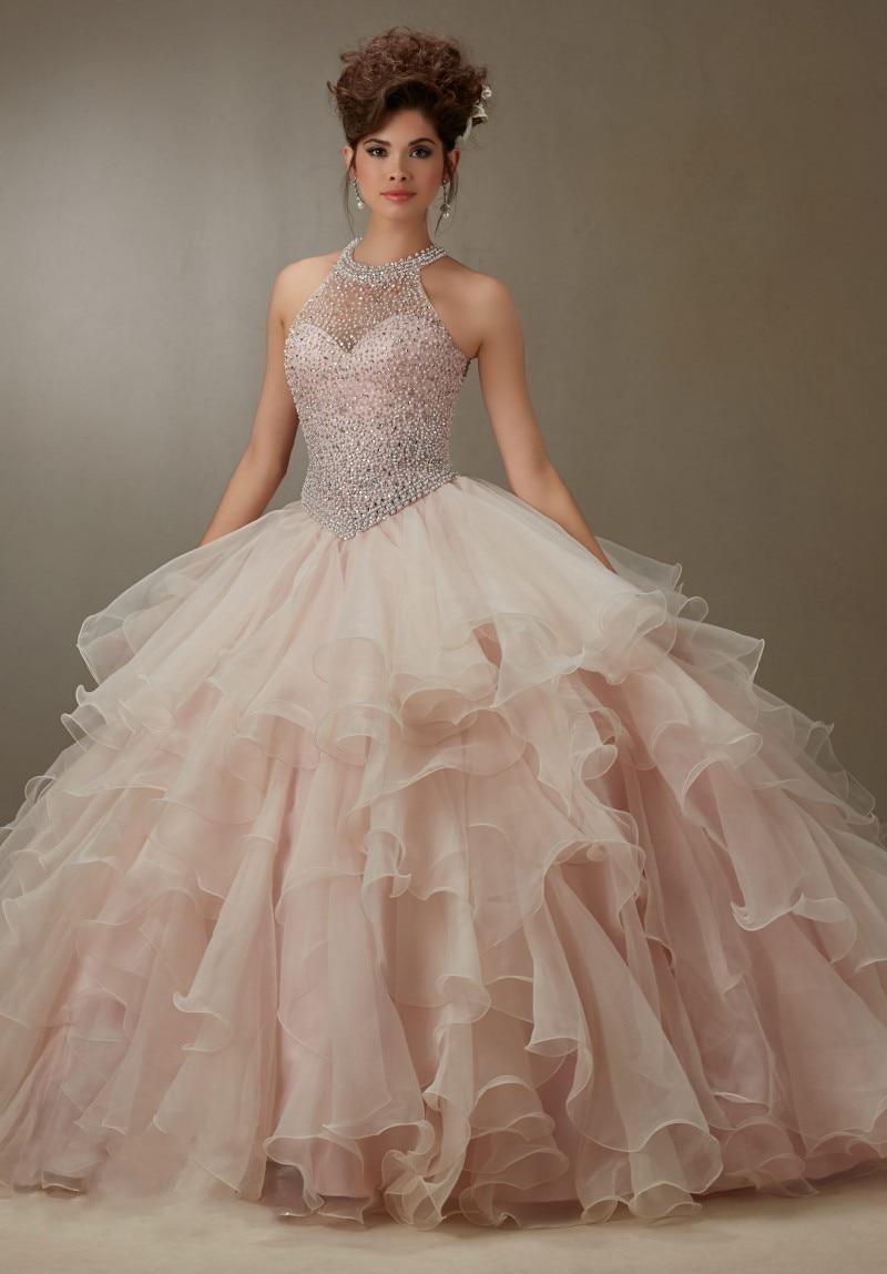 Light Pink Quinceanera Dress