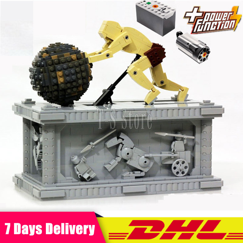 LEPIN 23017 1462Pcs Genuine Technic Series The MOC Sisyphus Moving Set 1518 Educational Building Blocks Bricks Toys Model Gifts new lepin 23017 1462pcs movie series moc le mythe de sisyphe building blocks bricks to holiday toys gift