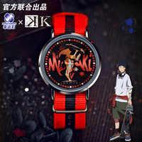K-Proyecto Anime LED reloj impermeable pantalla táctil Manga papel Yata Misaki Modelo figura